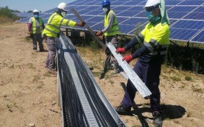 Terminada la instalación eléctrica en Andrezieux y La Souterraine (Francia)