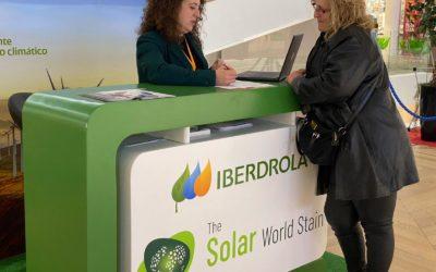 Iberdrola y Solar World Stain en el centro comercial Albacenter