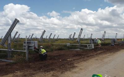 The Solar Wordl Stain continúa sus obras con la máxima seguridad