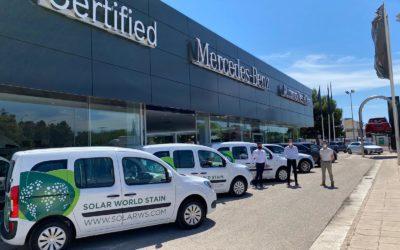 Aumentamos la flota de vehículos con Mercedes Citan