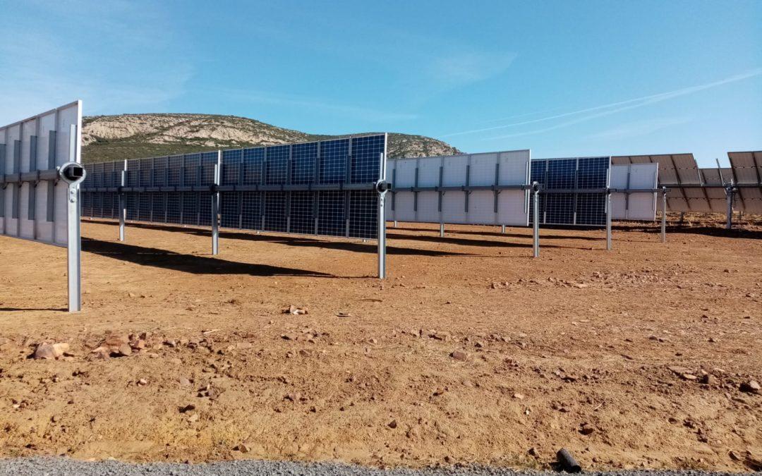 Fin de la instalación del campo de pruebas de La Nava (Ciudad Real)