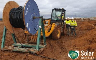 Nuevos proyectos en Solar World Stain