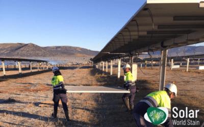 Reparaciones en parques fotovoltaicos